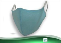 Fabricantibacterial  face mask (03 layers  inclusive of  antimicrobiallayer)